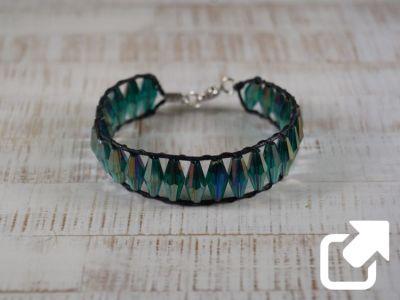 Kristallperlen Armbänder